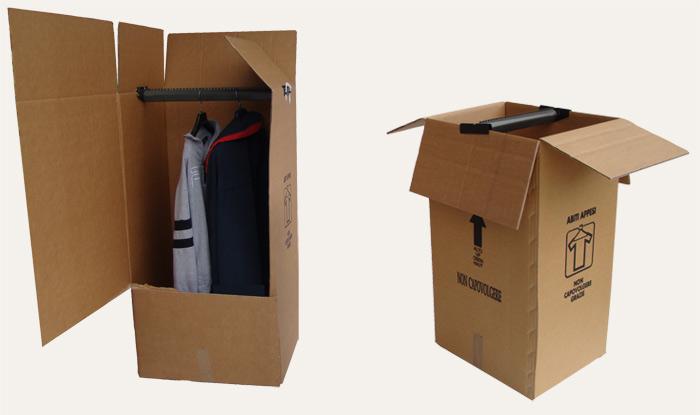 Produzione bauletti porta abiti in cartone per il - Scatole porta abiti ...