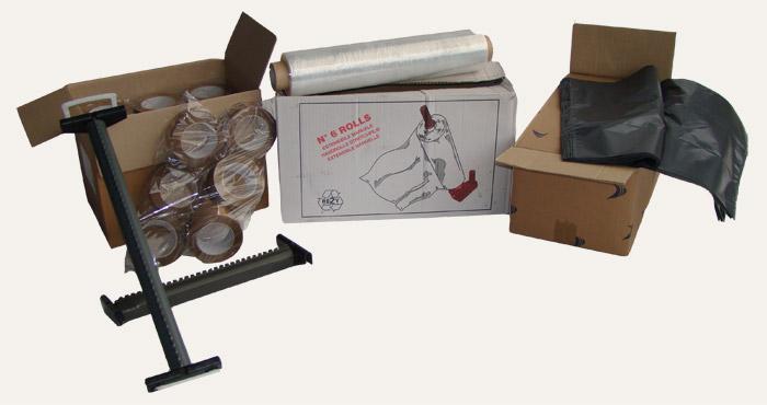 Accesori per scatole di cartone